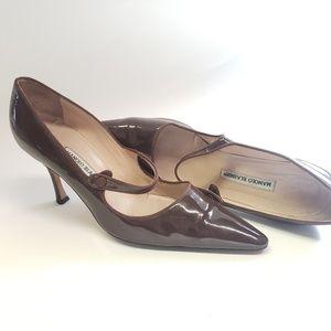 Manolo Blahnik Compari Stiletto Heels Size 41